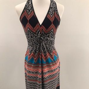 Laundry by Shelli Segal  Halter  Print Dress 6